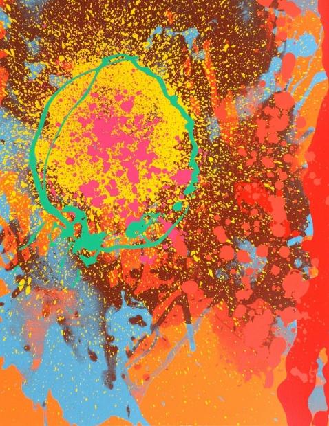 Soulless stars cascade by John Hoyland (RA)