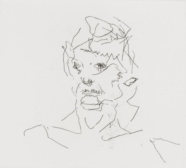 Julia 1981 by Frank Auerbach