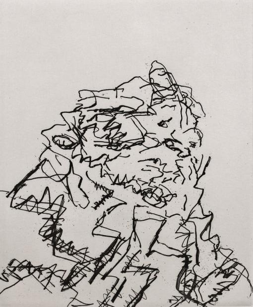 JYM by Frank Auerbach