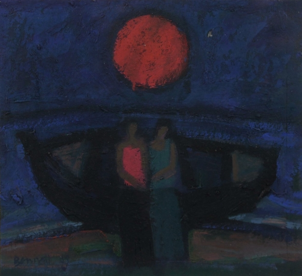 Study for the Two Women with Boat series  by Michael Bennett