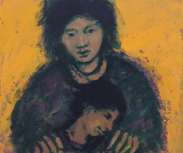 Mother and child by Michael Bennett