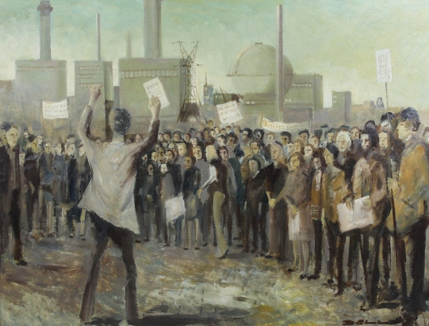 Nuclear Protest by Bill Bell