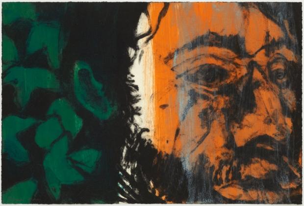Green Man (C) IV by Hughie O'Donaghue (RA)