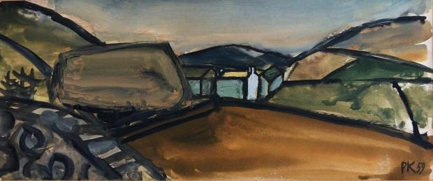 Field, West Cumbria  by Percy Kelly