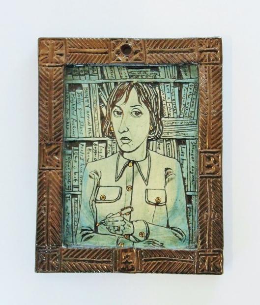 Portrait of Kate Bernard by Grayson Perry  RA