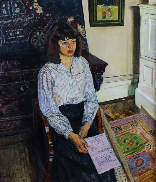 The Letter by Carel Weight RA, CBE