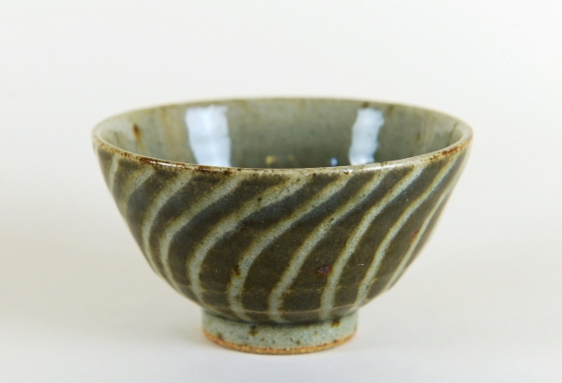 Small spiral bowl by Edward Hughes