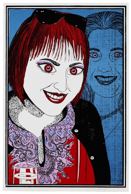 Six Snapshots of Julie (iv) by Grayson Perry  RA