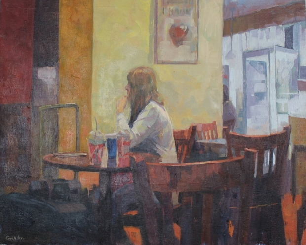 Station cafe by Ceri Allen