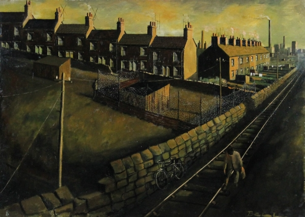 The Coal Picker,  Whitehaven  by Bill Bell