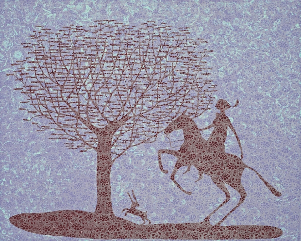 The female Quixote by Stephen Chambers (RA)