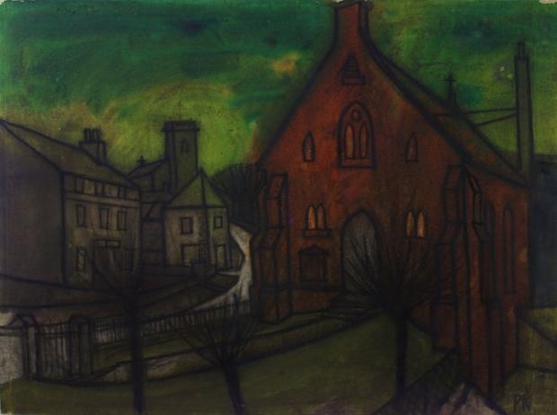 The red chapel, Harrington by Percy Kelly