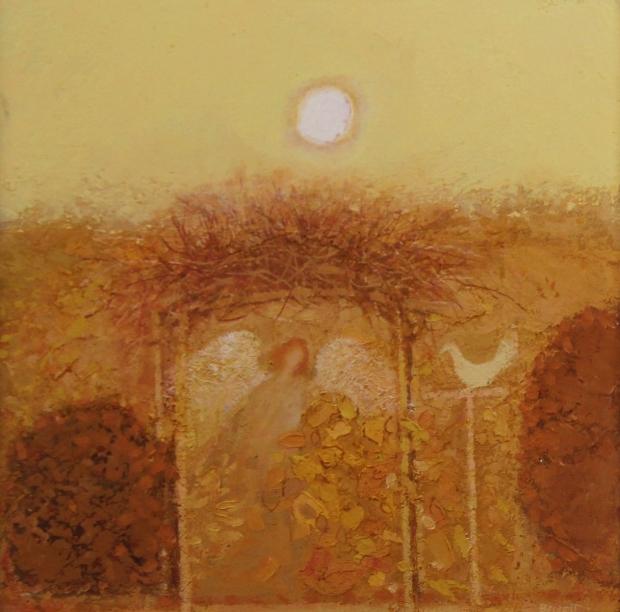 The Seraph's garden  by Michael Bennett