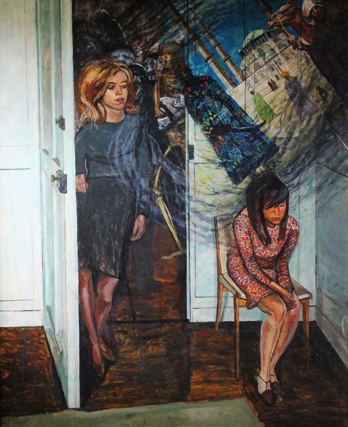 Thoughts of the Girls by Carel Weight RA, CBE