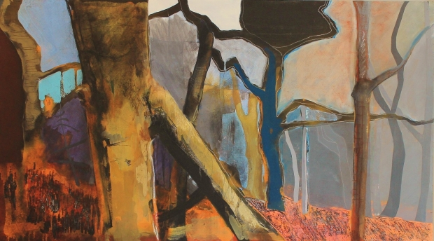 Tree standing, still by Jessica Pigott