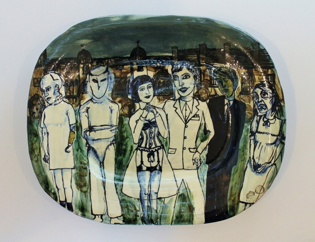 Six figure group by Grayson Perry  RA