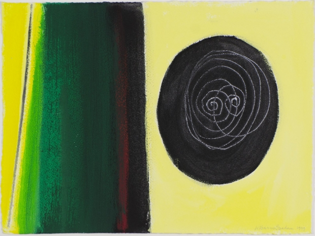 Untitled (White Spiral) - 1999 by Wilhelmina Barns Graham