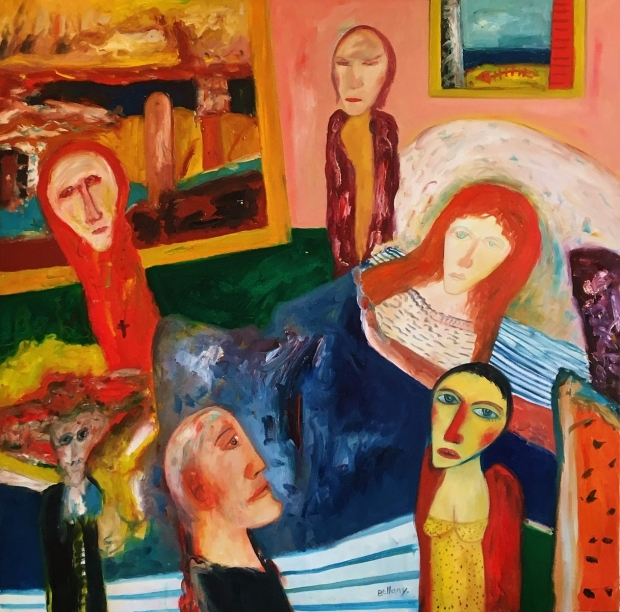 The vigil by John Bellany (RA, CBE)