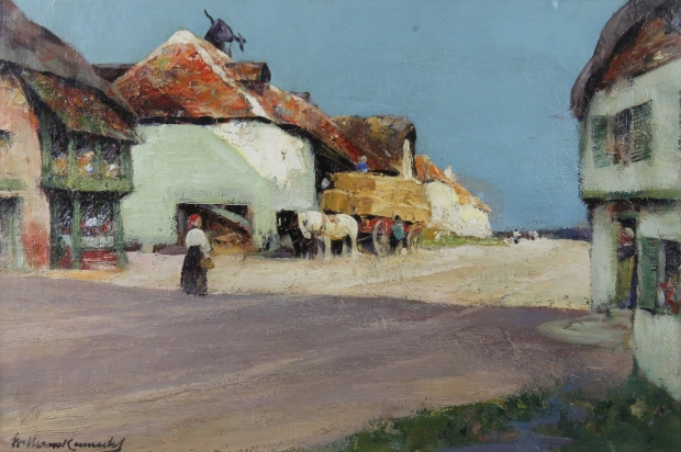 Street in Normandy  by William Kennedy