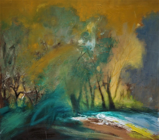 Willows by the burn by Helen Tabor